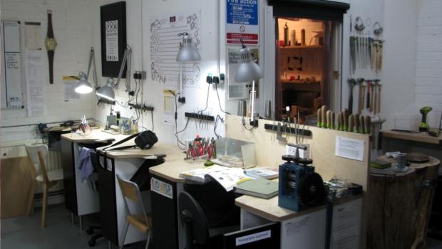 Precious Metals Workshop workbench