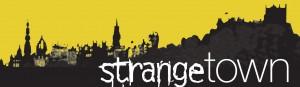strange town logo
