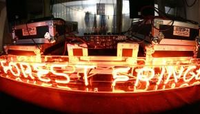 Forest Fringe lighting rig
