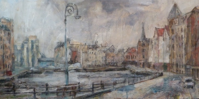 'The Shore, Leith' by Claire Williamson