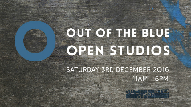 Out of the Blue Open Studios 2016 logo