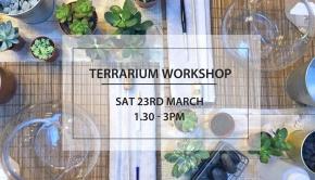 Terranium Workshop (plants on a table)