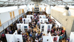 Exposed 2013 photography exhibition from a birds eye view