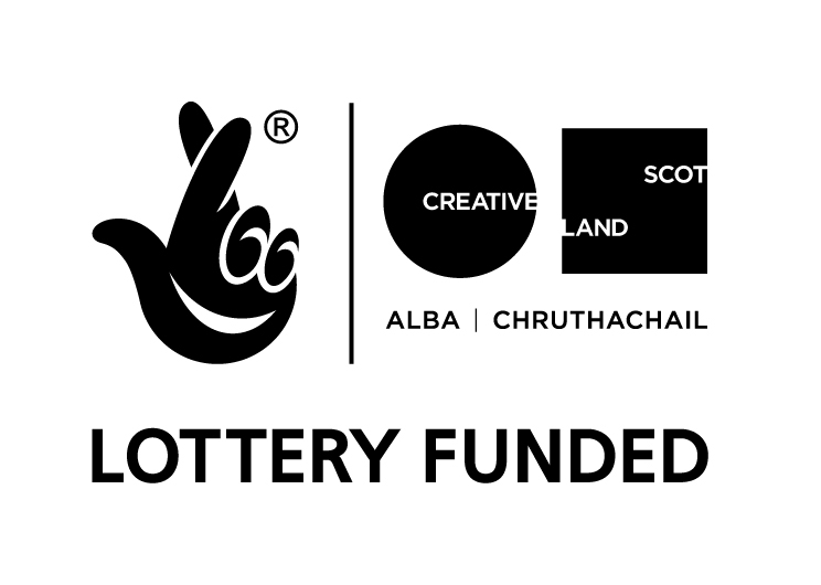 Lottery Funded / Creative Scotland
