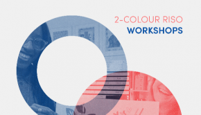 2-colour RISO print workshop
