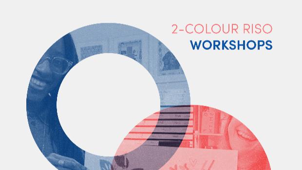 2-colour RISO print workshop