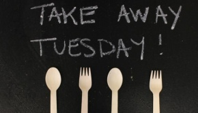 Take Away Tuesday with recyclable forks and spoons